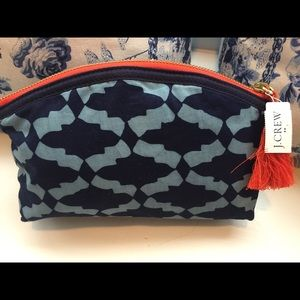 J.Crew Cosmetic Pouch NWT